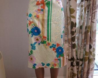 floral 1990's karen millen skirt size 12