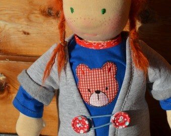 Waldorf doll Sofi - 16'' Waldorf inspired doll