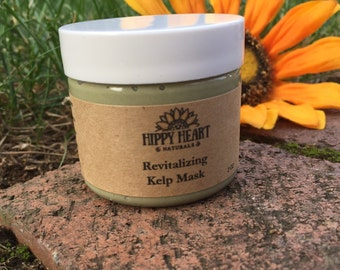 Kelp Face Mask / Revitalizing / brighten / clear skin/ breakouts