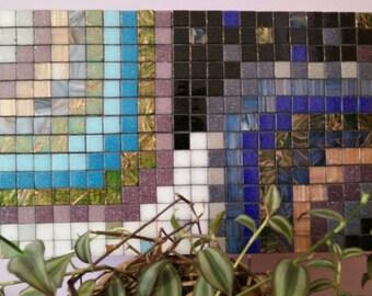Mosaic, day and night