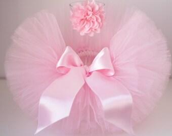Tutu and headband set, Newborn tutu set, pink tutu set, pink tutu ,  tutu and headband.