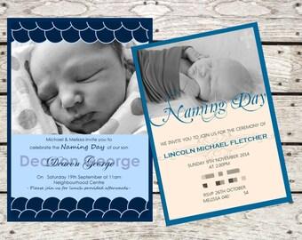 Christening, Birthday, Birth Announcement, Baby Shower Invitation!