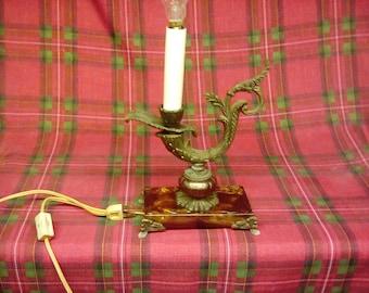Brass candle light