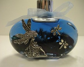 Dragonfly Fairy Enchantment Oil Candle