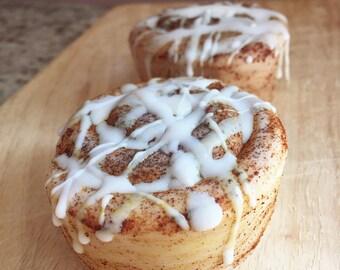 Cinnamon Roll Soap - Large Cinnamon Bun Soap - Cinnamon Soap - Homemade Soap - Food Soap