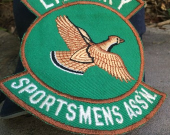 Jacket Patch for Library Pennsylvania Sportsman's Association Vintage
