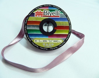 20 mm Satin bias tape, bias binding, trim (0.78 inches) - Bias Binding - Bia - Tape - Tapes