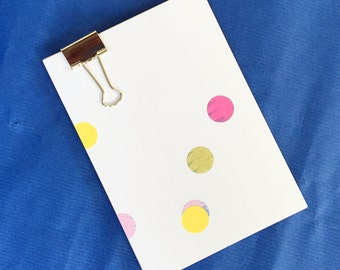 Set of 8 large cards pattern stickers - multicolor - paper glossy luxury - 110 x 155