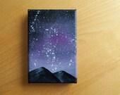 Night Sky Painting - Beckie Jane Brown