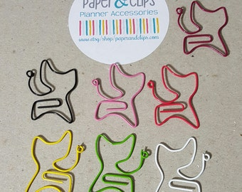 5 Cat Paperclips