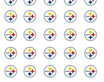 30 Pittsburgh Steelers Football Stickers