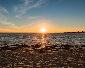 Cape May Sunset Wall Art Photography Color Landscape Print