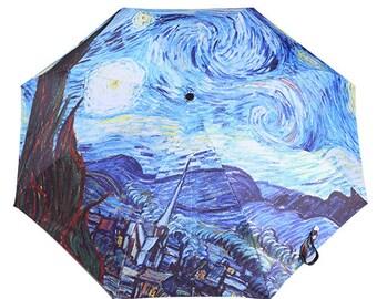 Van Gogh -Starry Night- Umbrella