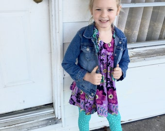 Double Ruffle Tunic | 3m to 10y