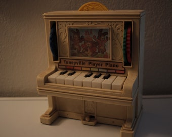 Vintage Tuneyville Player Piano