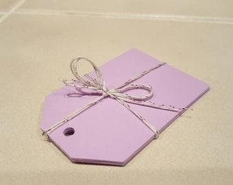 Lavendar gift tags (set of 10)