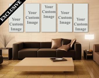 Custom Photo on 5 Panel Canvas