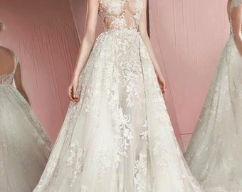 Zuhair Murad 2016 2IN1 wedding gown