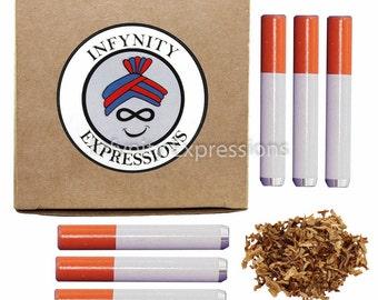 "Pack of 6 - Reusable Cigarette Holder / Bat - One Hitter Smoke Accessory - 2"""