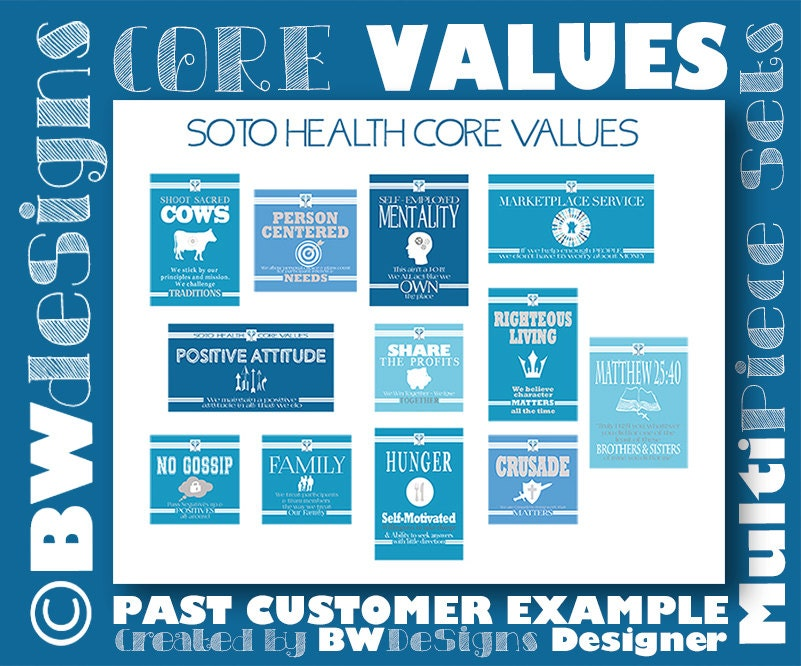 how to create core values for your company