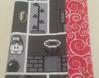 Super Mario 9-Bit on swirls EDC Hanky