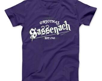 Outlander Inspired Sassenach Est 1743 Classic Series T-shirt