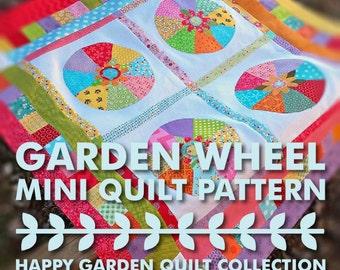 EASY! Happy Garden Wheel Downloadable PDF Pattern