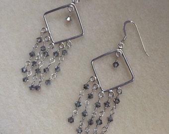 Vitrail Swarovski Chandelier Earrings