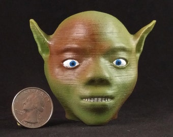 Patches the Goblin (#3): 3D Printed Creature
