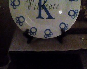 College collectible plates
