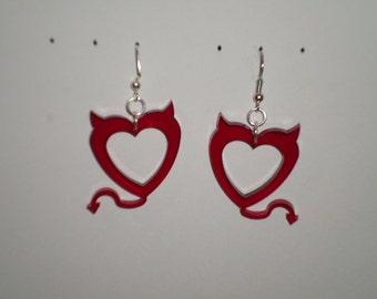 Devilish Heart Earrings (PN 1001-ACR-M-XXXX)