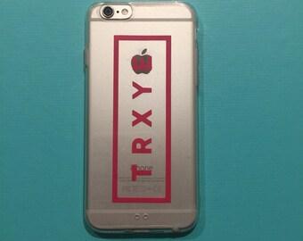 Troye Sivan transparent iPhone Phone Case