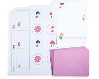 Personalised Fairy Writing Set