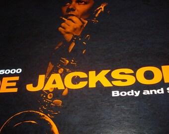 Joe Jackson vinyl record, Body and Soul record album, vintage vinyl record