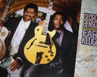 Vinyl Record, George Benson Earl Klugh record album, Collaboration vintage vinyl record
