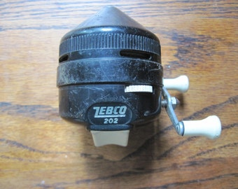 Vintage Zebco 202 fishing reel