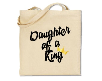 Daughter of a King Matching Tote Bag