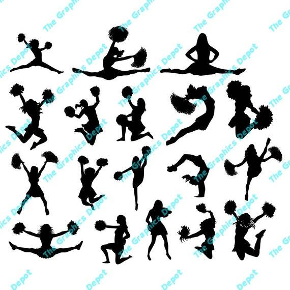 cheerleader clipart svg - photo #11