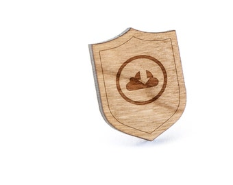 Cloud Download Lapel Pin, Wooden Pin, Wooden Lapel, Gift For Him or Her, Wedding Gifts, Groomsman Gifts, and Personalized