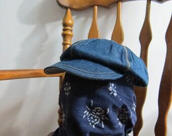 Denim Newsboy Hat Japan