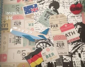 Bon Voyage, Leaving, Australia, Germany, New York, Goodbye