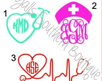 Nursing Monograms
