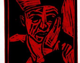 Jester - Yorick  (23x25cm, image 13x13cm)