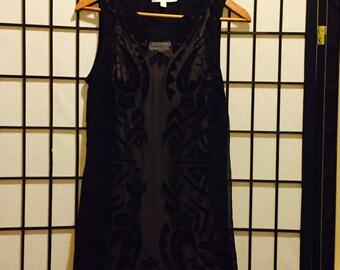 Sheer Shapes Dress - Small