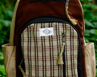 Pure Hemp backpack; PureHemp Co.