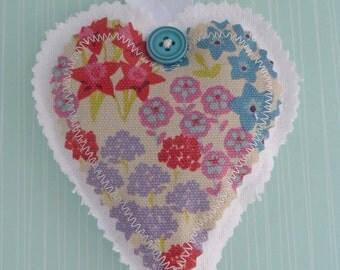 Lavender bag – heart shaped