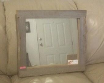 Custom Sinker Cypress Natural Mirror