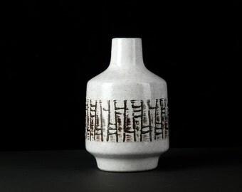 VEB HALDENSLEBEN Vase Mid Century VINTAGE East German Pottery Form 3047