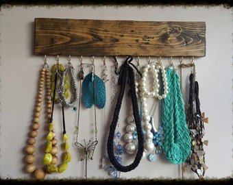 Necklace Wall Display