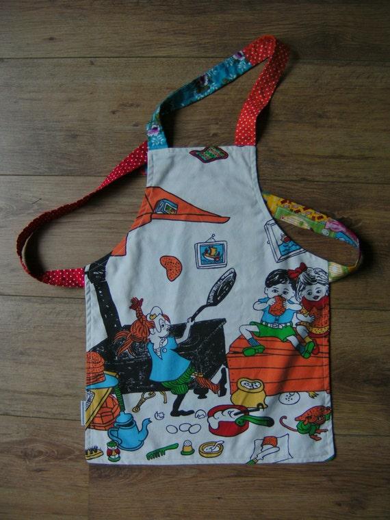 Little kids apron Pippi Longstocking